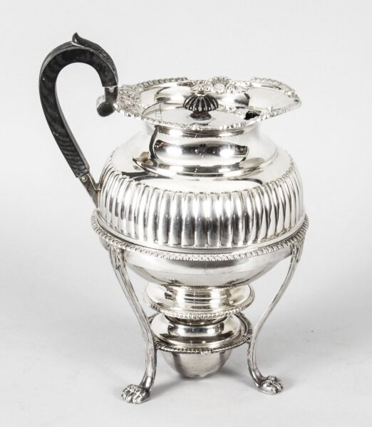 Antique Silver Plate Coffee Biggin on Stand by Elkington C1860  19th C | Ref. no. A1659 | Regent Antiques