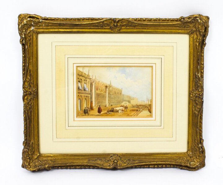 Antique Watercolour Venice by Samuel Prout, Early 19 Century | Ref. no. R0011 | Regent Antiques