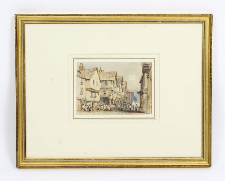 Antique Watercolour George Pyne by  Circa 1840 | Ref. no. R0025 | Regent Antiques