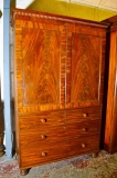 04140a-Antique-English-Linen-Press-Wardrobe-Tallboy-c.1830