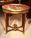 04922-French-Empire-Marble-Topped-Occasional-Centre-Table