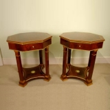 00249a-Large-Pair-of-Empire-Stylle-Mahogany-Occasional-Tables