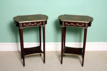 02565a-Pair-Mahogany-Occasional-Tables-with-Marquetry