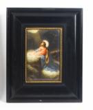 Antique Berlin KPM Plaque of Jesus 19th Century